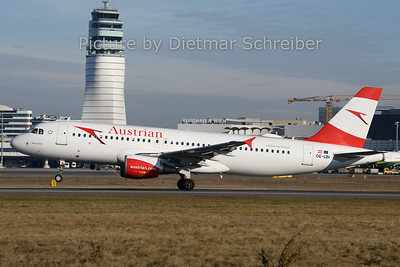 2019-12-30 OE-LBI AIrbus A320 Austrian Airlines