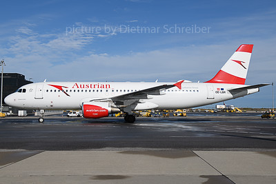 2019-11-04 OE-LBR Airbus A320 Austrian Airlines