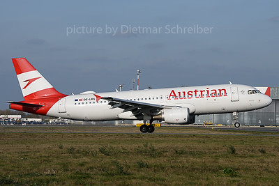 2019-11-01 OE-LBS Airbus A320 Austrian AIrlines