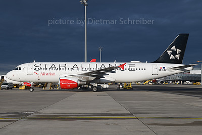 2019-11-14 OE-LBZ Airbus A320 Austrian Airlines