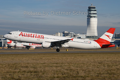 2019-12-30 OE-LBF Airbus A321 Austrian Airlines