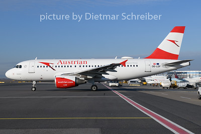 2019-12-30 OE-LDF Airbus A319 Austrian AIrlines