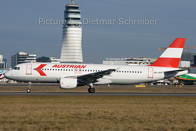 2019-12-30 OE-LBO AIrbus A320  Austrian Airlines