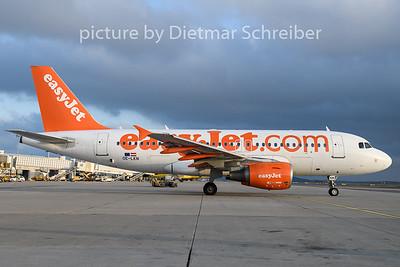 2019-11-22 OE-LKN Airbus A319 Easyjet Europe
