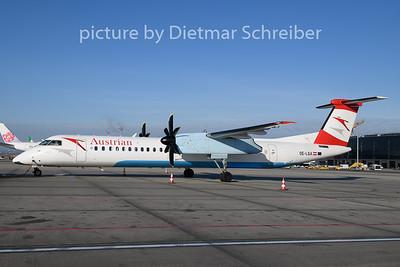 2019-12-30 OE-LGA Dash 8-400 Austrian Airlines