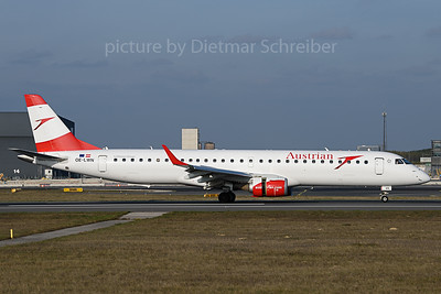 2019-11-01 OE-LWE Embraer 195 Austrian Airlines