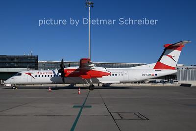 2020-12-26 OE-LGN Dash8-400 AUstrian AIrlines