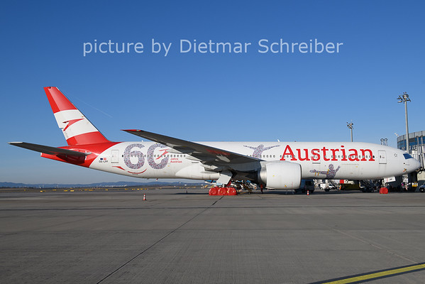 2020-12-27 OE-LPF Boeing 777-200 Austrian Airlines