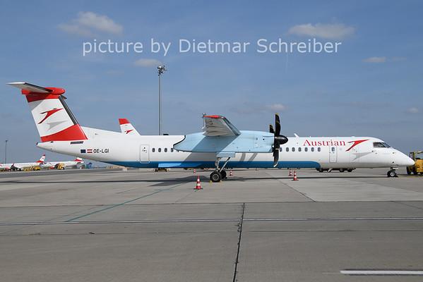 2021-04-28 OE-LGI Dash8-400 Austrian AIrlines