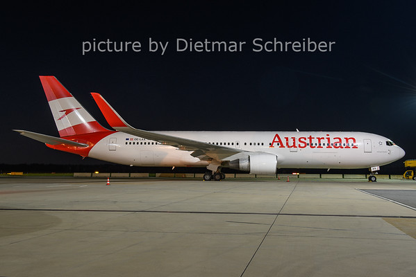 2021-04-26 OE-LAX Boeing 767-300 Austrian AIrlines