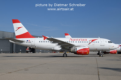 2021-09-14 OE-LDB Airbus A319 Austrian Airlines
