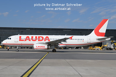 2021-09-14 9H-LOP Airbus A320 Lauda Europe
