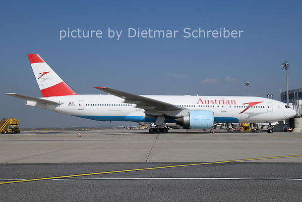 2021-04-27 OE-LPC Boeing 777-200 Austrian AIrlines