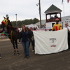 Nicholas Graffam with Alliegetty in the Winners Circle after winning the seventh race.