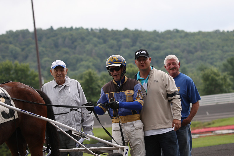 Bruce Aldrich won the second with Therideofyourlife.
