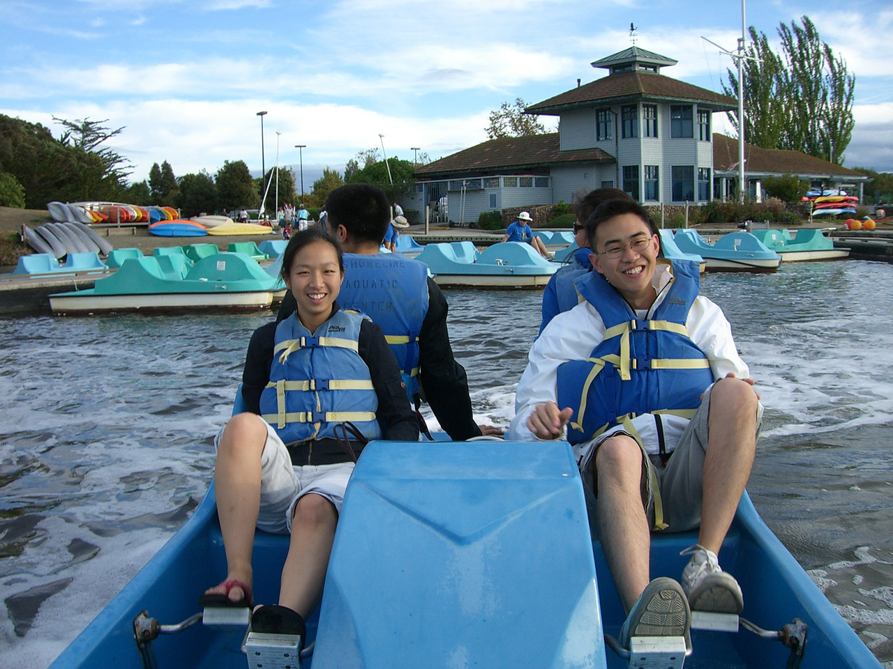 Jenny Alyono & Ben Poon ram our boat