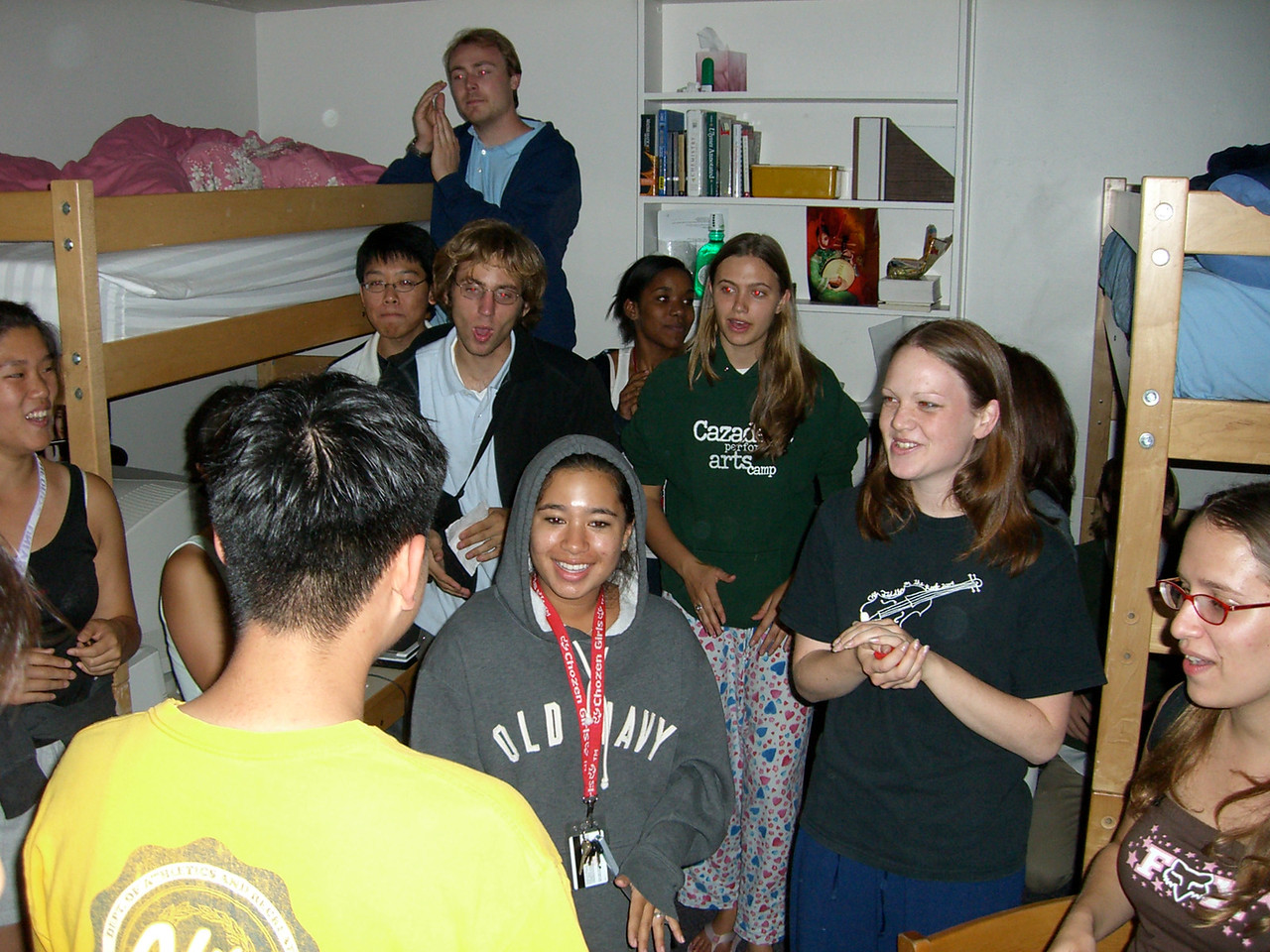 The 8th - More women in a dorm room than you'd want