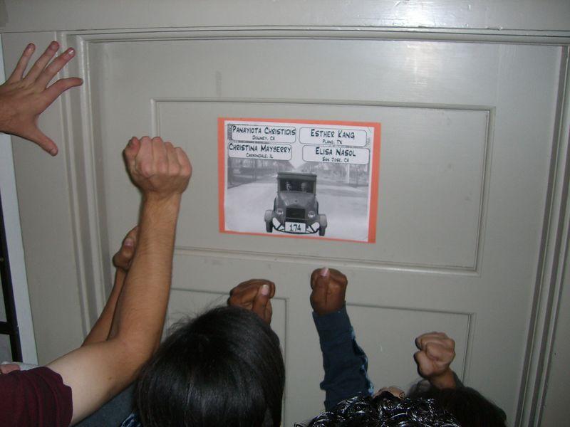 The 2nd - Breaking down Esther Kang's door