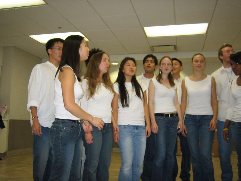 2005 11 12 Sat - blurry practice 1