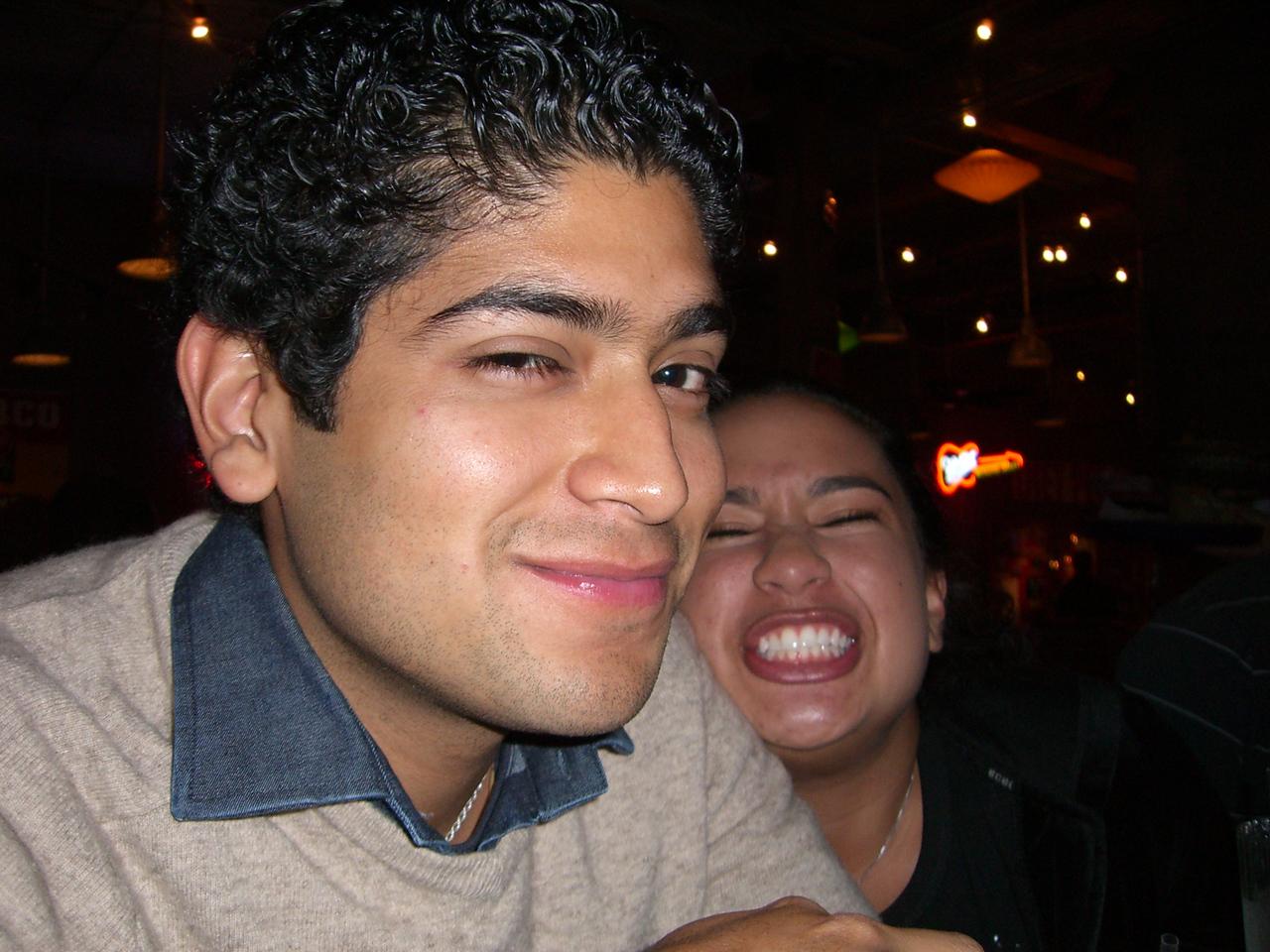 2005 11 18 Fri - Pablo Pozo & Jennifer Evans 1