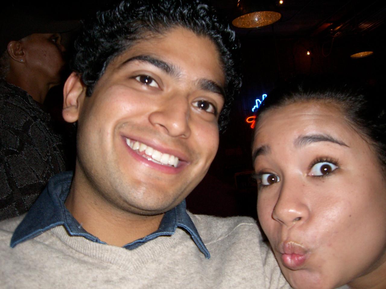2005 11 18 Fri - Pablo Pozo & Jennifer Evans 2