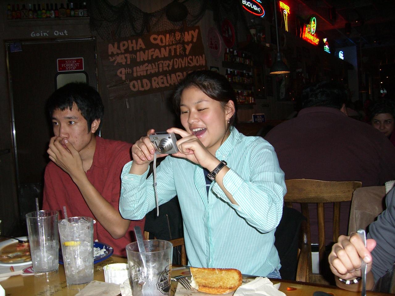 2005 11 18 Fri - Michael Lin & Jenn Kim 2