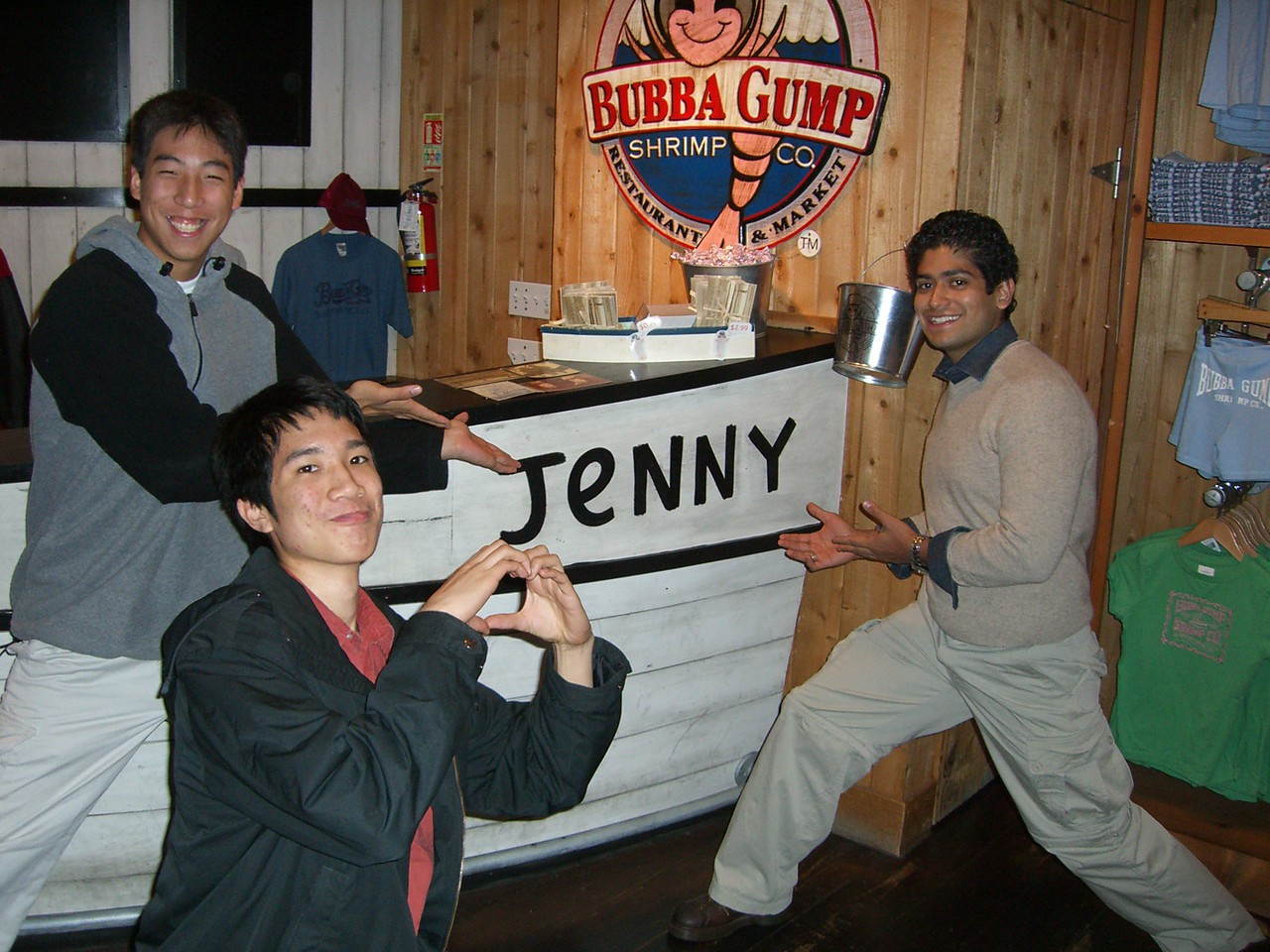 2005 11 18 Fri - James Lee, Michael Lin, & Pablo Pozo missin' their director