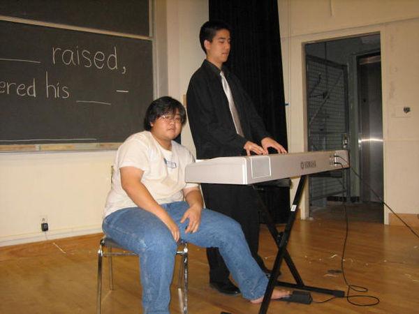 2005 12 04 Sun - Joseph Cho & Jedidiah Chow