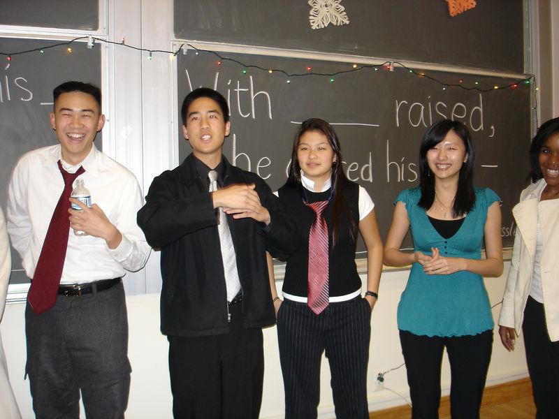 2005 12 04 Sun - Ben Poon, Jedidiah Chow, Jenn Kim, Nebula Gu, & Leah Machen