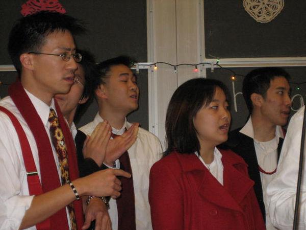 2005 12 04 Sun - Ben Yu, Hyungsoo Kim, Ben Poon, Esther Kang, & Michael Lin