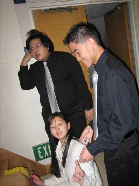 2005 12 04 Sun - Joseph Cho, Lydia Im, & Andrew Tai