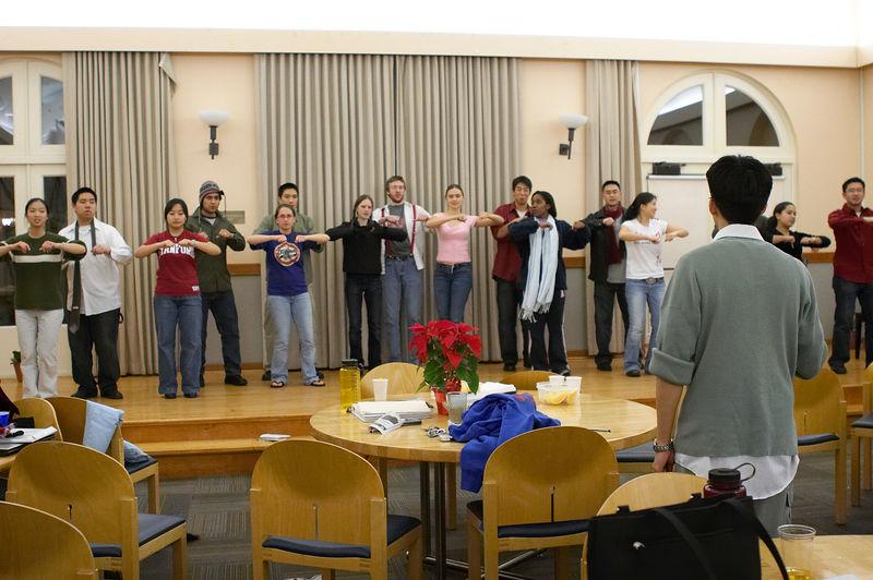 2005 12 09 Fri - Late night rehearsal 21 - Joyful Joyful 8