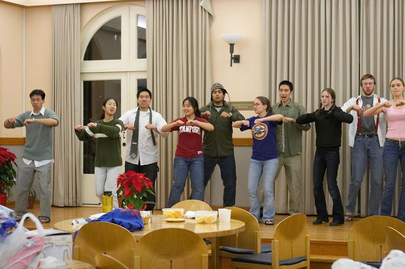 2005 12 09 Fri - Late night rehearsal 31 - Joyful Joyful 18