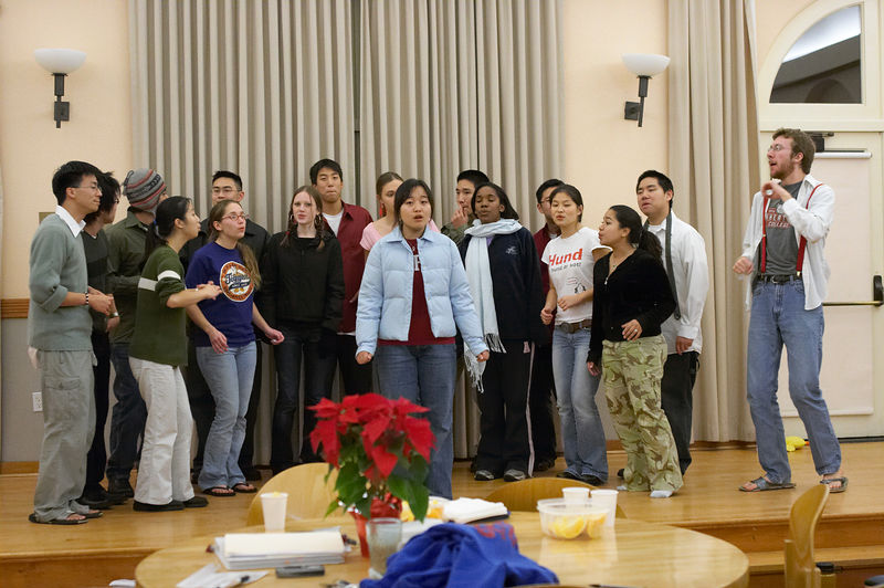 2005 12 09 Fri - Late night rehearsal 6 - Lovely Day 3
