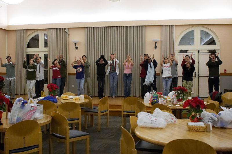 2005 12 09 Fri - Late night rehearsal 37 - Joyful Joyful 24