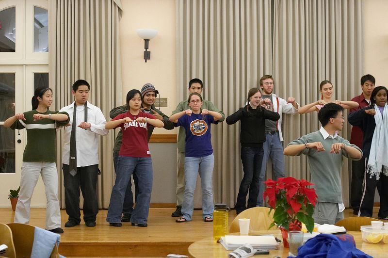 2005 12 09 Fri - Late night rehearsal 17 - Joyful Joyful 4