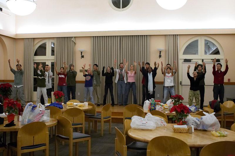 2005 12 09 Fri - Late night rehearsal 30 - Joyful Joyful 17
