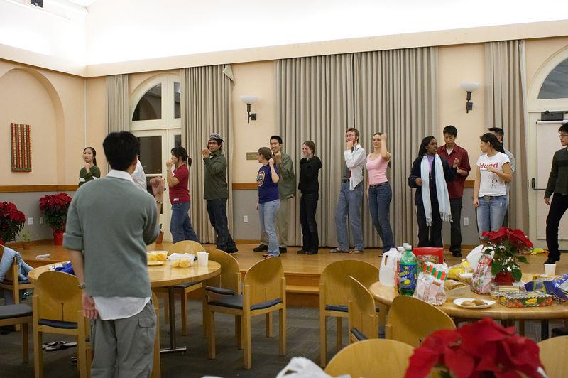 2005 12 09 Fri - Late night rehearsal 26 - Joyful Joyful 13