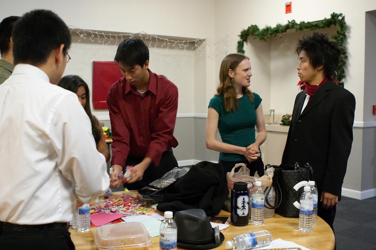2005 12 10 Sat - David Chiang, James Lee, Emily Dalton, & Hyungsoo Kim