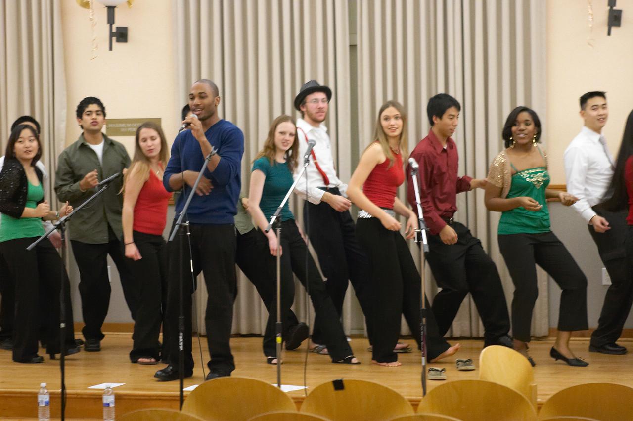2005 12 10 Sat - Rehearsing Joyful Joyful 8