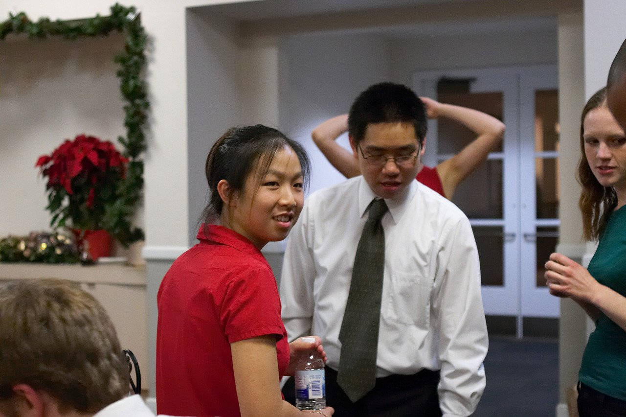 2005 12 10 Sat - Jenny Alyono, David Chiang, Allie Dunworth, & Emily Dalton
