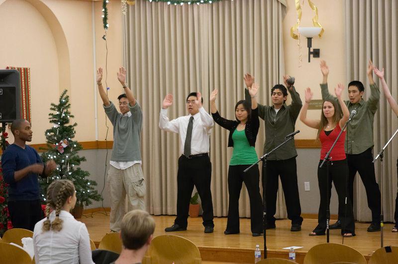 2005 12 10 Sat - Rehearsing Joyful Joyful 6