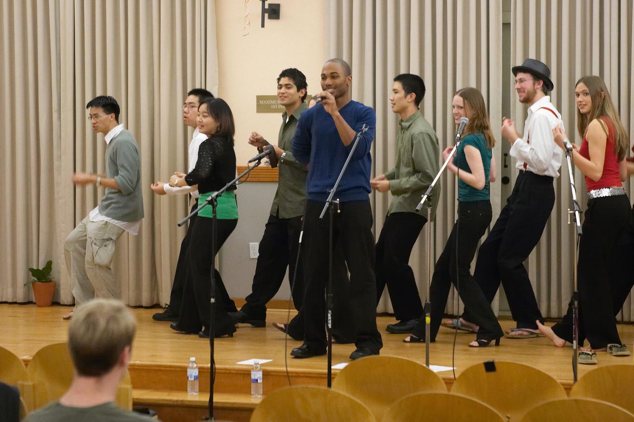2005 12 10 Sat - Rehearsing Joyful Joyful 9