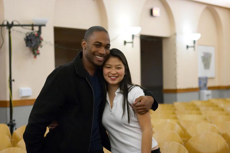 2005 12 10 Sat - Jarreau Bowen & Jenn Kim