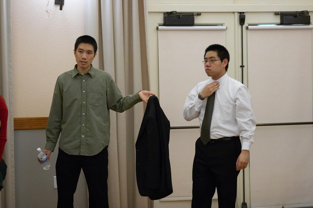 2005 12 10 Sat - Michael Lin & David Chiang