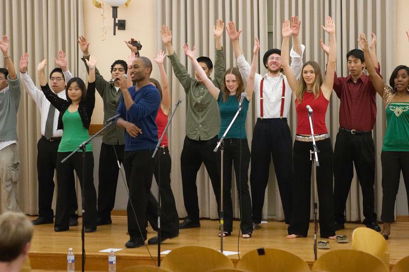 2005 12 10 Sat - Rehearsing Joyful Joyful 7