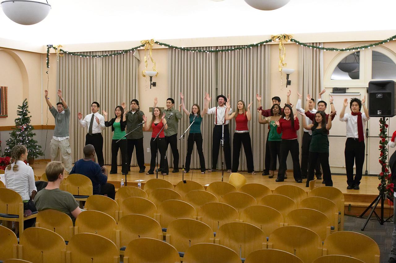 2005 12 10 Sat - Rehearsing Joyful Joyful 1