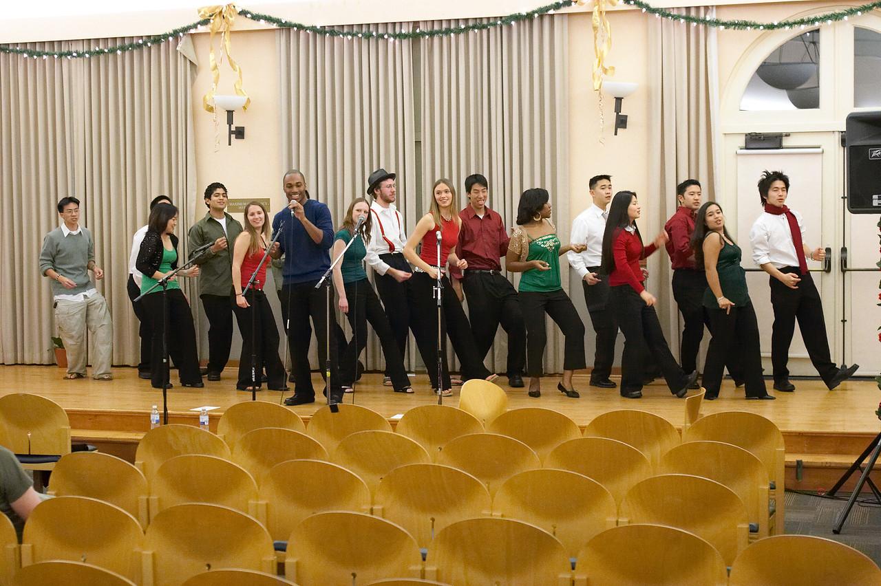2005 12 10 Sat - Rehearsing Joyful Joyful 2