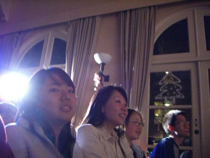 2005 12 10 Sat - Audience - Shinae Kim, Alice Tung, Angela Hsu, & Jeremy