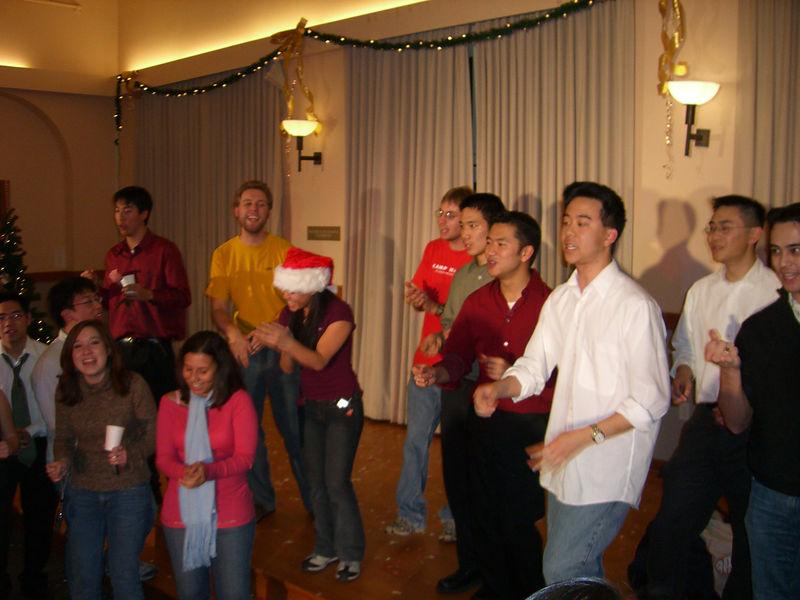 2005 12 10 Sat - Post Concert singing